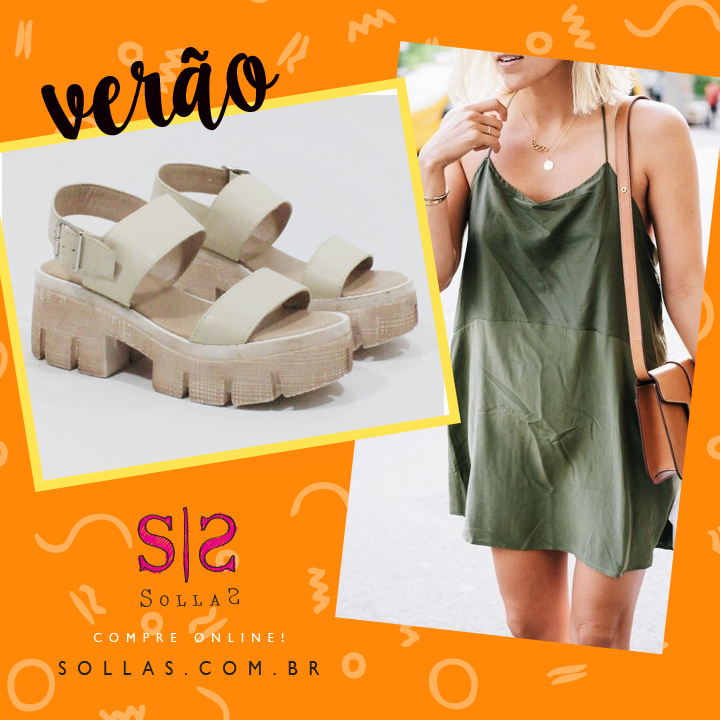 Look com o slip dress